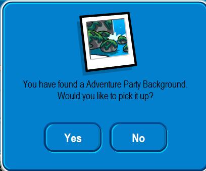 Adventure party background
