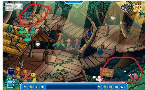 Adventure party treefort room