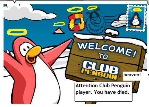 Dead Penguin Postcard