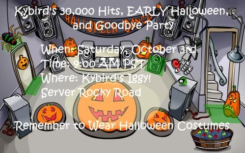 Goodbye Party invite
